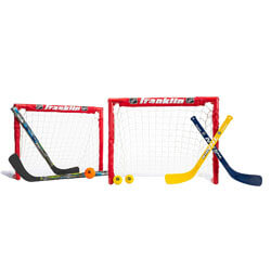 Franklin Sports Kids Folding Hockey Goal Set, Gift Ideas for 7 Year Old Boys