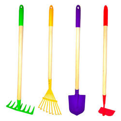 G & F Products Kids Garden Tool Set