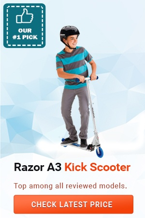 Razor A3 Kick Scooter, Gift Ideas for 7 Year Old Boys