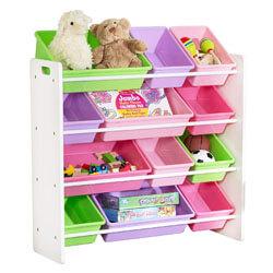 HoneyCanDo Kids Toy Storage Organizer