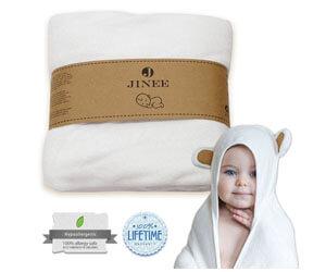 Jinee Organic Hooded Baby Towel