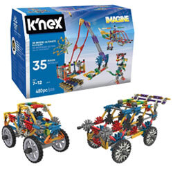 K'NEX – 35 Model Building Set, Gift Ideas for 7 Year Old Boys