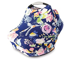 Kids N' Such Floral Pattern Breathable Nursing Cover