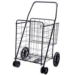 LS Jumbo Deluxe Folding Shopping Cart