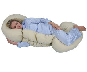 Leachco Grow To Sleep Self-Adjusting Body Pillow
