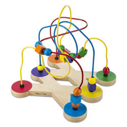 Classic Beaded Wooden-Maze Educational Toy