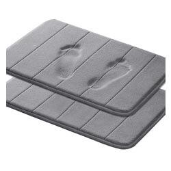 Memory Foam Coral Velvet Non Slip Bathroom Mat