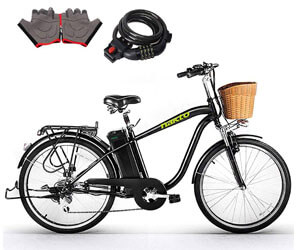 NAKTO Electric Bicycles, Hybrid Bikes Under 500