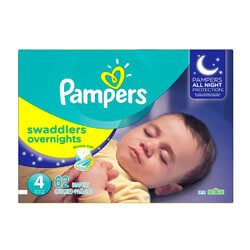 Pampers Swaddlers Overnights Disposable Baby Diapers