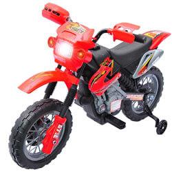 Qaba Kids Electric Ride-On Motorcycle Dirt Bike Toy