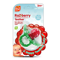 Razbaby Multi-Texture Silicone Teether