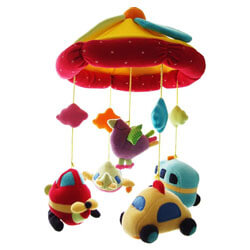 SHILOH Baby Crib Musical Mobile