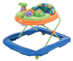 Safety 1st Dino Sounds 'n Lights Discovery Baby Walker
