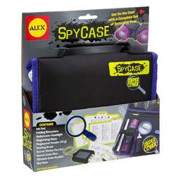 Spy Case Detective Gear Set Kids Spy Kit