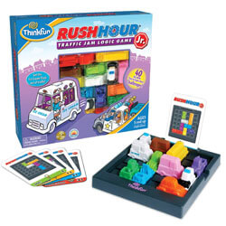 ThinkFun Rush Hour Junior Traffic Jam Logic Game