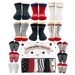 Tiny Captain Non-Skid Grip Socks