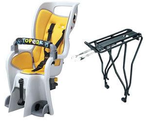 Topeak Disc Rack Bicycle Baby Seat
