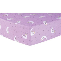 Trend Lab Unicorn Moon​ Fitted Crib Sheet