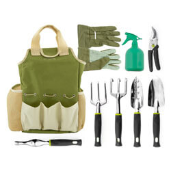 Vremi 9 Piece Garden Tools Set