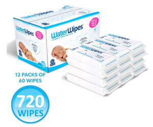 WaterWipes Unscented Baby Wipes