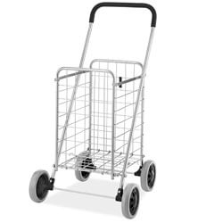 Whitmor Utility Durable Folding Shopping Cart