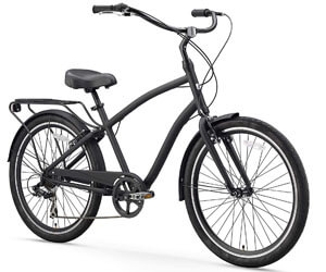 sixthreezero Men's Hybrid Cruiser Bicycle