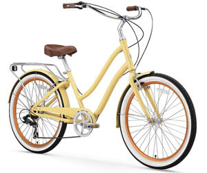 sixthreezero Women's Hybrid Alloy Bicycle, Hybrid Bikes Under 500