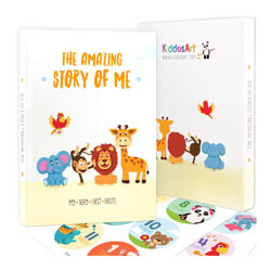 Limited Promo: The Amazing Baby Memory Book by KiddosArt