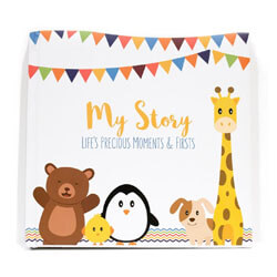 First Year Baby Memory Book